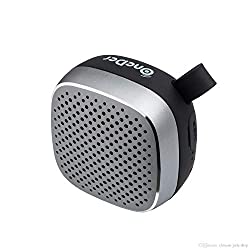 WeCool V11 Bluetooth Speaker with Mic   High Bass Stereo Sound Portable Bluetooth Speakers Metalic Design Speaker for Mobile (Silver),WECOOL IMPORTS AND TRADING PVT LTD,V11