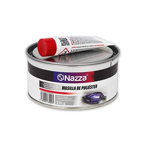 Masilla de Poliéster Nazza para Carrocería con Catalizador - 250 gr.
