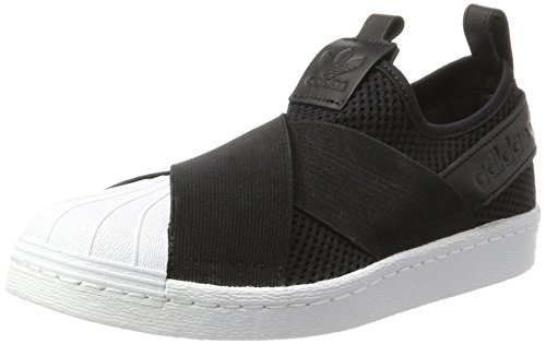 adidas Superstar Slipon W, Zapatillas de Baloncesto Mujer, (Core Black/Core Black/FTWR White), 39 1/3 EU