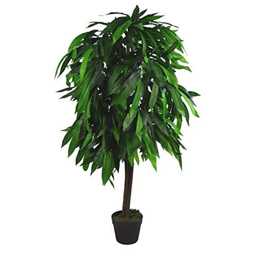 XL Kunstpflanze Mangobaum, 120 cm hoch