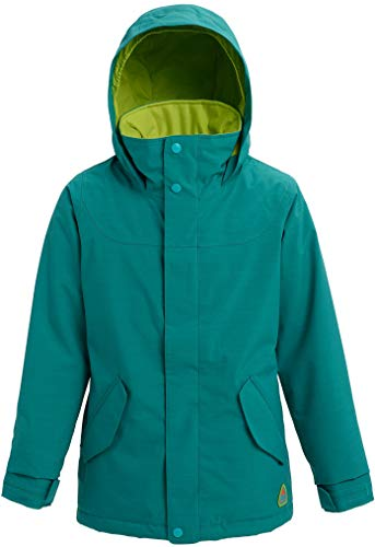 Burton Girls Elodie Jacket, Green-Blue Slate Heather, Large