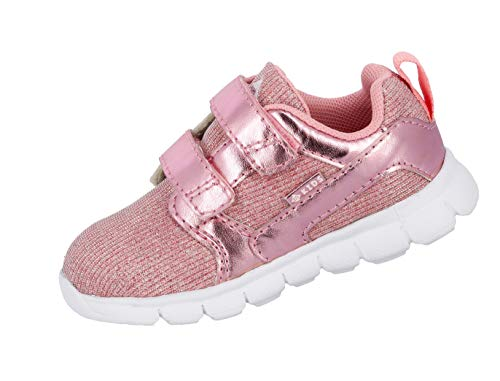 Brütting Baby Mädchen Emma V Sneaker, Pink (Rosa Rosa), 23 EU