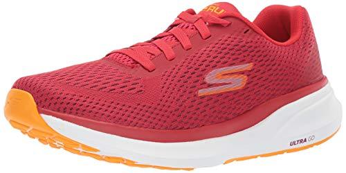Skechers 55216-RDOR, Zapatos para Correr Hombre, Red, 43 EU