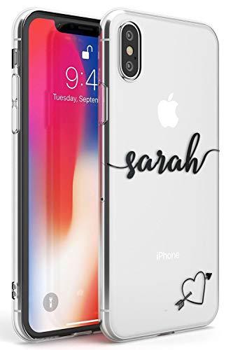 Case Warehouse iPhone XR Nombre Personalizado con Monograma