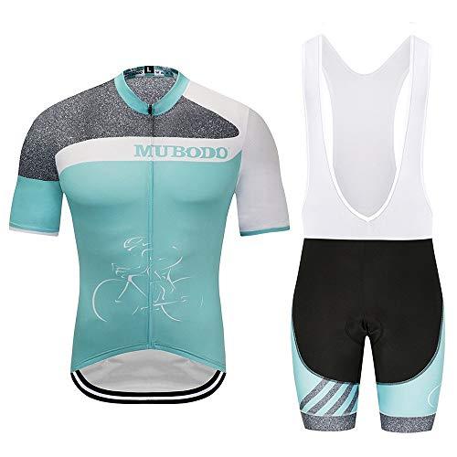 TONGDAUR Ciclismo Maillot Traje de Montar en Bicicleta Deportes de Verano Manga...