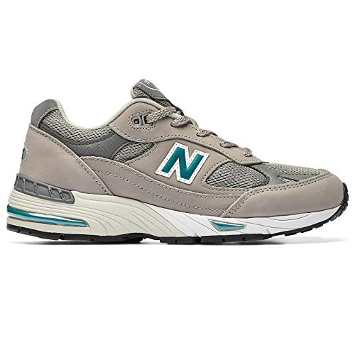 New Balance 991 Sneaker Donna W991ANI Grey Green (Numeric_39)