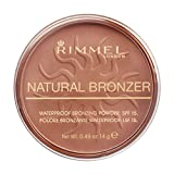 Rimmel London Natural Bronzer Terra Abbronzante Waterproof a Lunga Durata SPF 15, 026 Sun Kissed, 14 g