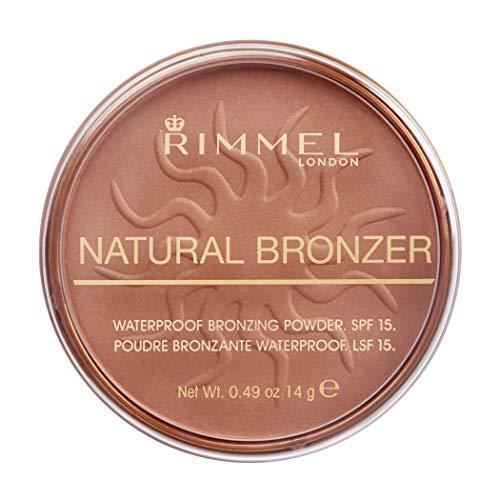 Rimmel London Natural Bronzer Terra Abbronzante Waterproof a Lunga Durata SPF 15, 026 Sun Kissed, 14 g