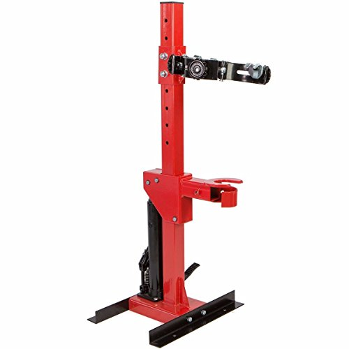Stark 2.5 Ton Strut Compressor Spring Auto Removal Coil Spring 5,000 LBS Hydraulic Foot Pedal, Red