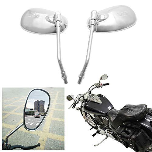 SurePromise Pair Universal Rearview Mirror Motorcycle Motorbike Scooter...