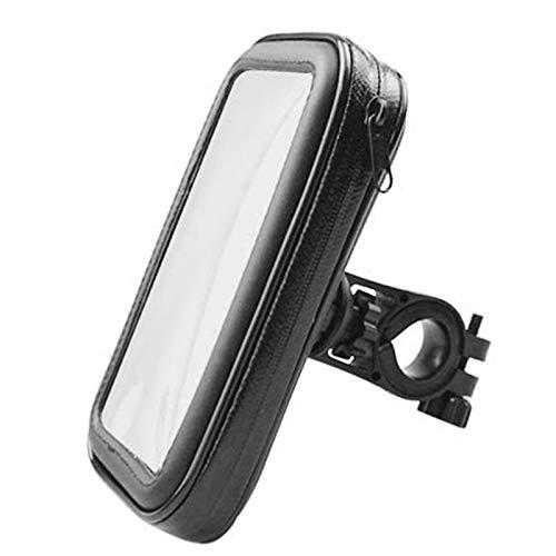 SHENGHUI Pantalla táctil giratoria 360 ° Soporte para teléfono móvil de bicicleta impermeable bolsa de navegación del coche (color: K8 1 XL soporte impermeable para bicicleta)