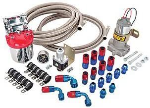JEGS 100805 Fuel Pump & Regulator Install Kit Includes: