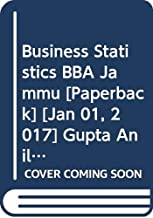 Business Statistics BBA Jammu