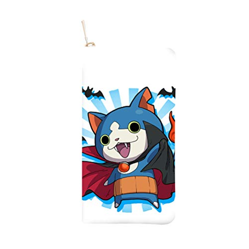 Yo-Kai Watch Backpack Small Exquisite Wallet Glamour of Fashion Purse Simple and Chic Purse Large Capacity Moneybag Atmosphere Simplicity Moneybag Unisex (Color : A06, Size : 19.7 X 10 X 2.3cm)
