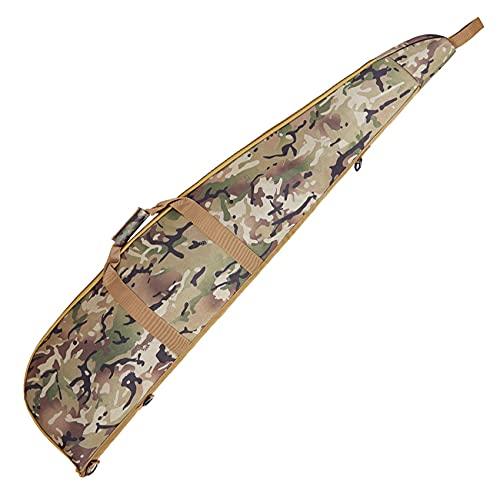 Funda Camuflaje (Camo) para carabinas, Rifles, escopetas y Armas largas en General con Hueco para Visor. Longitud: 120 cm.