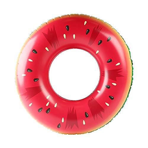 """zoomyo Schwimmring Melone,Riesen-Schwimmring """"Melone"""", Schwimmkissen, XXL Float Spielzeug in lustiger Melonen-Form, Durchmesser ca. 100 cm"""