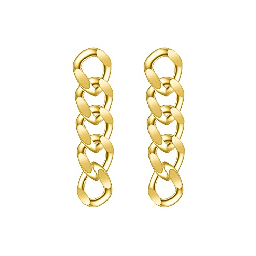 Damen Ohrringe Hängend Ohrringe Lang Rund Ohrringe Gold Hängend Ohrringe Lang Ohrringe Echt Silber Modeschmuck Ohrringe für Frauen Freundin,Weihnachts Muttertags Jubiläums Geschenk