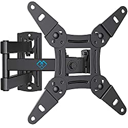 """Universal suitable for all TV sets - The wall bracket fits 13-42 """" flat & curved TVs. Our VESA (mounting hole pattern) compatible front plate fits on 75x75 / 100X100 / 100x200 / 200x100 / 200x200 mm. Please confirm the Vesa, Weight, size specificatio..."""