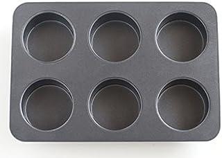 cotta cottaオリジナルマフィン型(6個取) グレー 26×17.5×3.5cm 85667