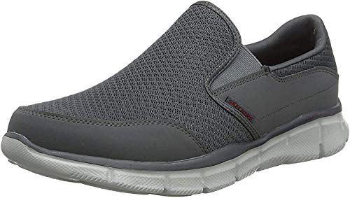 Skechers Herren ULTRA FLEX-SALUTATIONS-51361 Low-Top, Grau (Char), 44 EU