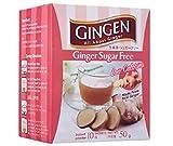 Gingen Sin azúcar de jengibre (10 s x 5 g) 50 g – Una bebida refrescante y equilibrada, maravillosa caliente o fría, lista al instante.