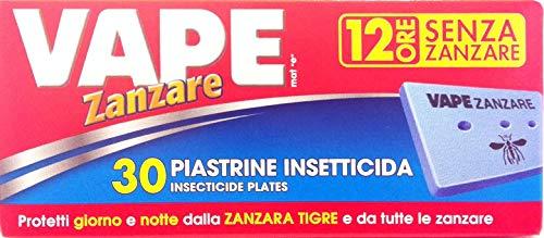 VAPE Plaquetas Antimosquito para Diff eléctrico. Clásico 30Pz