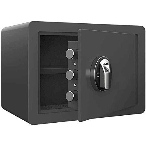Caja fuerte de seguridad, caja fuerte para huellas dactilares, caja fuerte de seguridad, armario empotrado en la pared, acero pequeño, resistente a las palancas, código de almacenamiento de seguridad