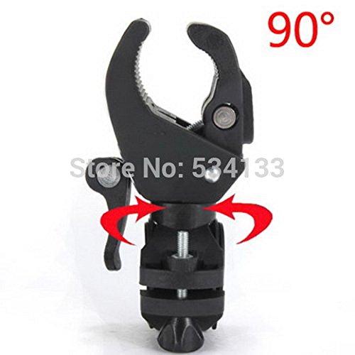 AIKONG Hot! Omnipotent Fahrrad-Taschenlampenhalterung, Halterung für Frontlicht, Clip für Fahrrad