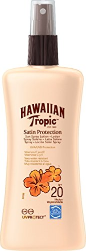 Hawaiian Tropic Satin Protection Sun Spray Lotion Sonnenspray LSF 20, 200 ml, 1 St