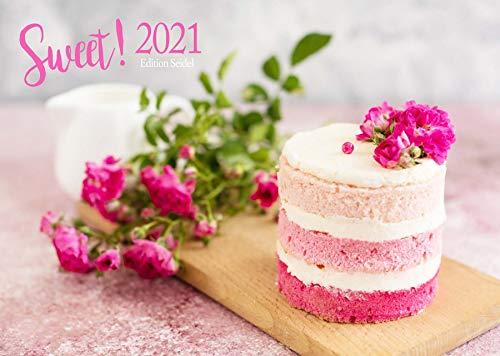 Edition Seidel Sweet Premium Kalender 2021 DIN A3 Wandkalender Essen Dessert Süßigkeiten Food süß lecker Schokolade