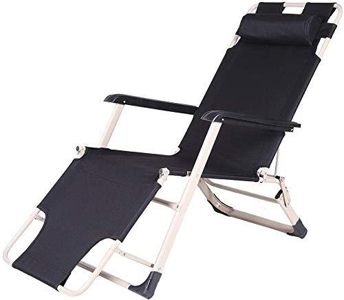 KaiKai Reclining Relaxer Stuhl Multi Position Sonnenliege Garten Außenterrasse Zwei Vierkantrohre Lengthen und Widen Klappstuhl