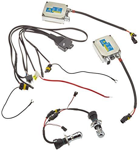 akhan numérique 9 32 V 35 W Canbus Ballast Kit xénon H4 10000 Kelvin Avec ampoule xénon HID et installation matériaux sans Message d'erreur, sans clignotement