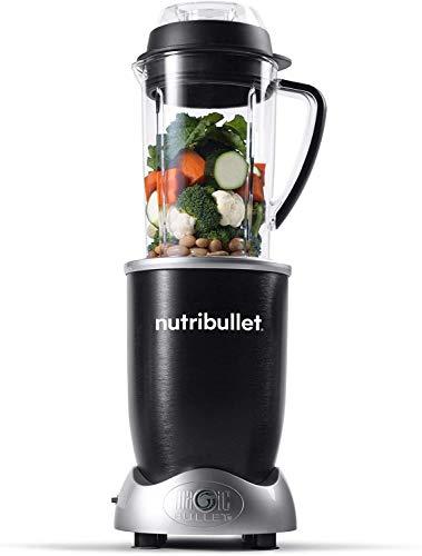 NutriBullet Commercial UL 5-Piece 1700 watt Rx Smart Technology Blender, Black