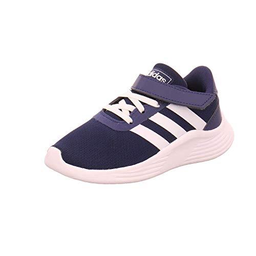 Adidas Lite Racer 2.0 C, Sneaker, Azul Oscuro/Blanco, 28 EU