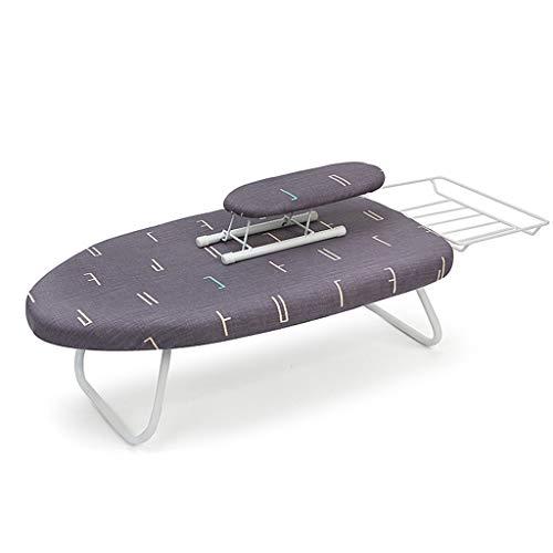 AOYANQI-Herramientas de planchado Fácil de almacenar tabla de planchar, poroso y transpirable de plástico tabla de planchar Camisa del lazo de planchado rack 80 * 83 * 19cm ahorra espacio