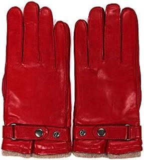 [アルポ] ラムレザー グローブ レッド 羊革 手袋 メンズ AP182UA NAPPA CINT RUBINO 8