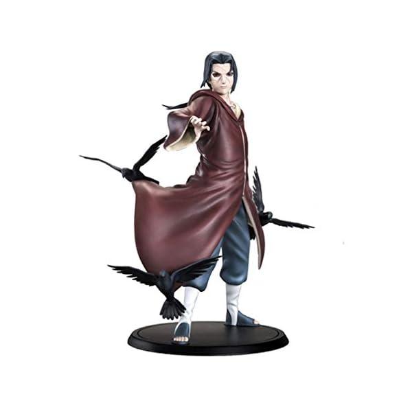 EASTVAPS Figura Naruto Uchiha Itachi Brinquedos Anime Acción de PVC Figura de Colección Modelo de Juguete 17 cm 1