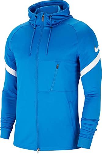 Nike Strike 21 Full-Zip Jacket Giacca con Cerniera Intera, Royal Blu/Bianco/Bianco, XL Uomo
