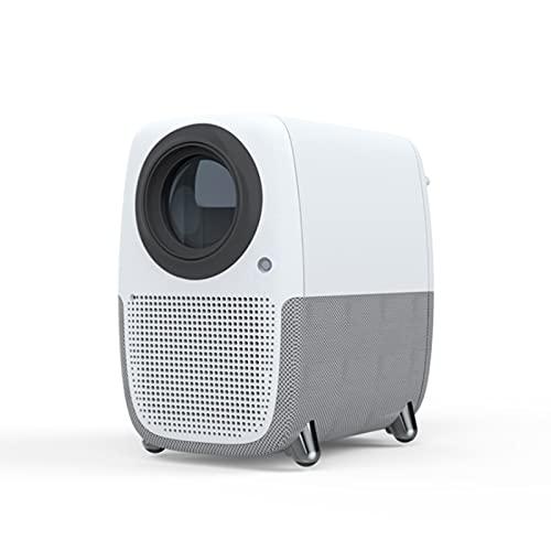 KIUY Mini proiettori, videoproiettori Portatili, proiettori Wireless per la casa ad Alta Definizione, Adatti per Regali per Bambini Video TV Film Giochi di società