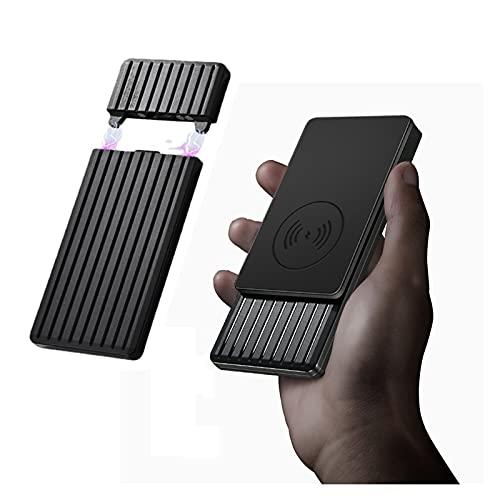 Bluetooth earphone 2021 10000mAh Banco De Potencia Inalámbrico Cargador Portable Cargo Poder Ultra FÁNTICO Carga RÁPIDA PD 18W USB-C QC3.0 Tipo-C 10W A Prueba De Agua A Prueba De Polvo A Prueba De