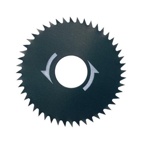 Dremel 546 Kreissägeblattern (Zubehörsatz für Kreissägevorsatz 670 mit 2 Trennscheiben 31,8mm zum Schneiden und Trennen von Holz, Laminate, Spanplatten, Sperrholz)