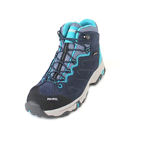 Meindl Kinder Minnesota GTX Schuhe, Jeans-türkis, 35