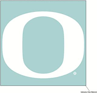 Wincraft NCAA University of Oregon Ducks 6 x 6 inch White Decal