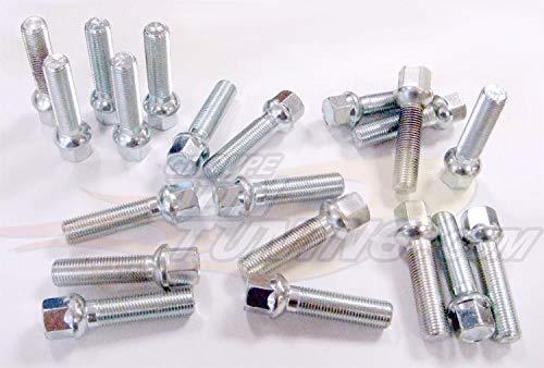 20 Vis 14x150 - L2 40mm - Cle 17 - Portee Spherique