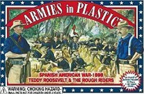 Armies in Plastic Teddy Roosevelt and the Rough Riders Offerot By Classic Toy Soldiers, Inc by  Classic Toy Soldiers, Inc