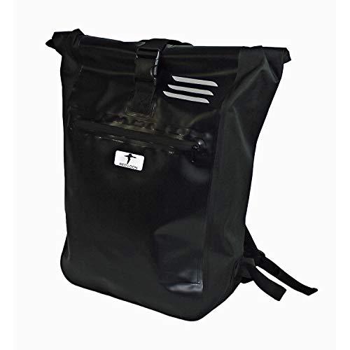 Red Loon Messenger Bag Courier Bag Truck Tarpaulin Backpack Black