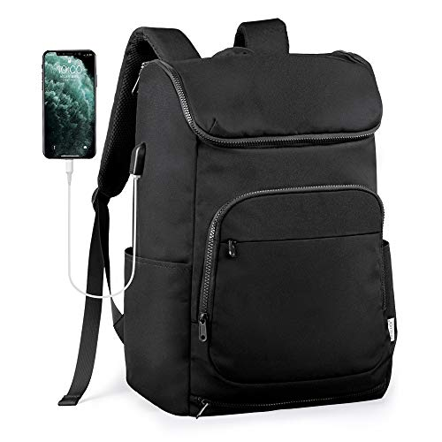 Beschoi 15.6 Inch Travel Laptop Backpack, Waterproof Lightweight Anti-Theft Daypack with USB Charging, Multi-Functional Rucksack Laptop Bag with Large Capacity for Travel/Bussiness/School/Men/Women