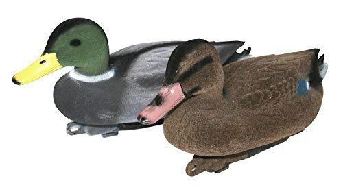 Jack Pyke - Beflocktes Lockenten-Paar - Ente und Erpel