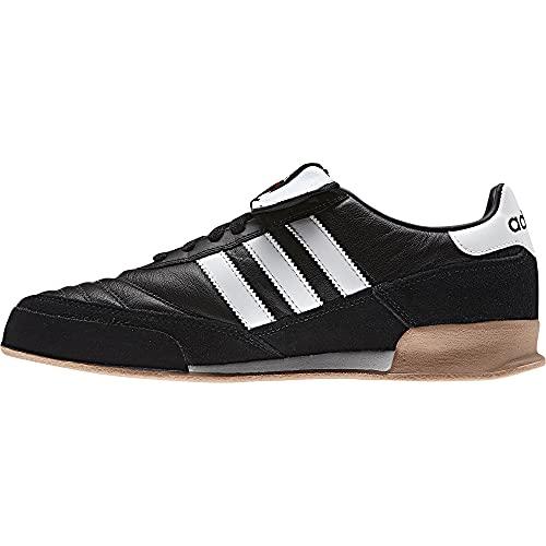 Adidas Mundial Goal, Botas de fútbol Hombre, Negro/Blanco (Core Black/Core White), 40 EU