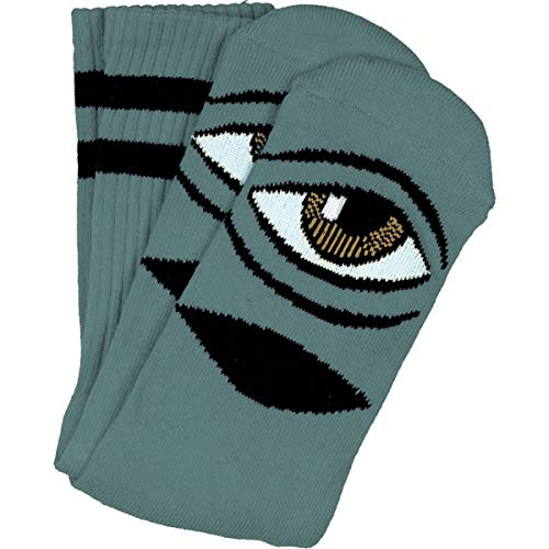 Toy Machine Skateboards Sect Eye Sage Crew Socks - One Size fits Most